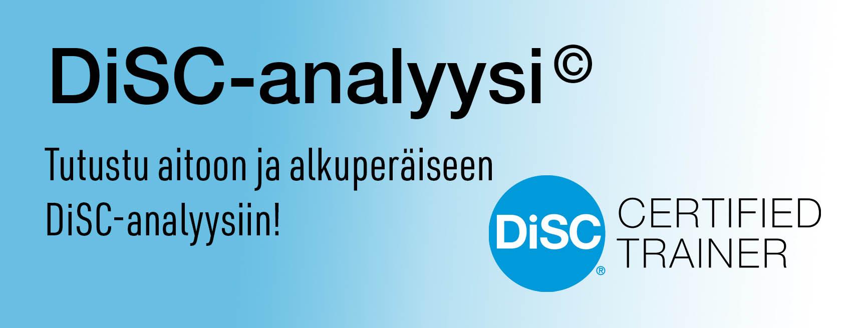 Disc-analyysi